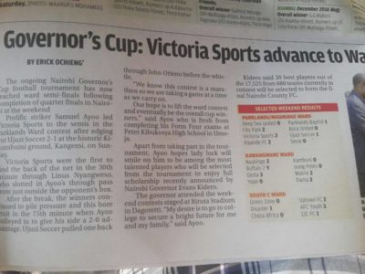 governors cup kenya